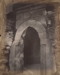 Entrance to the Minar of Firoz Shah, Gaur.